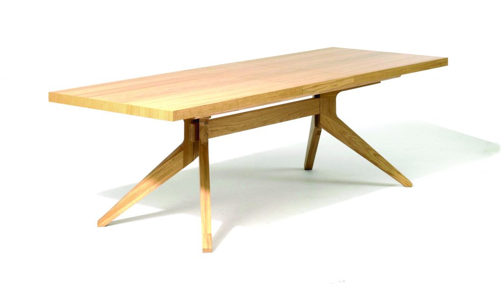 Cross Dining Table by Matthew Hilton