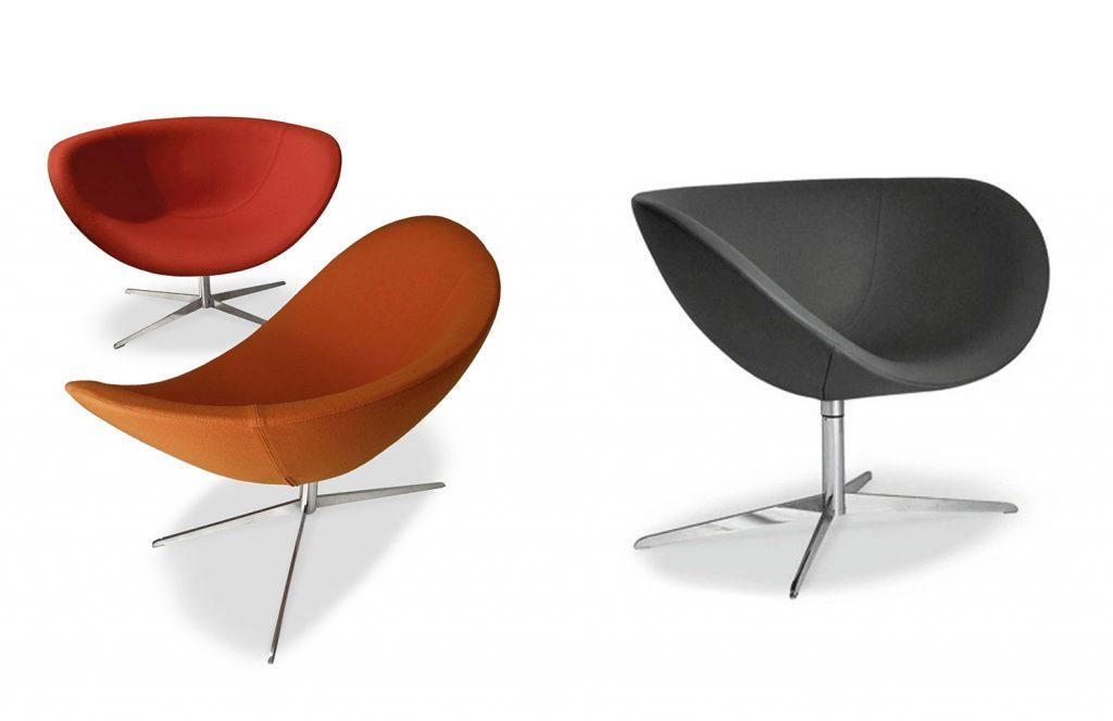 Poppy lounge chair by David Fox