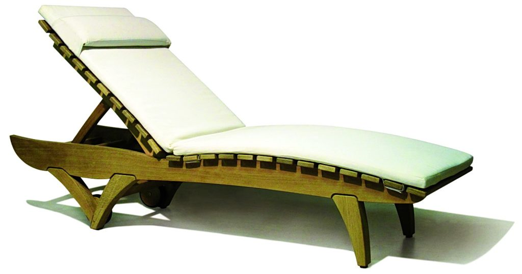 Lizard Lounger by Simon Burvil