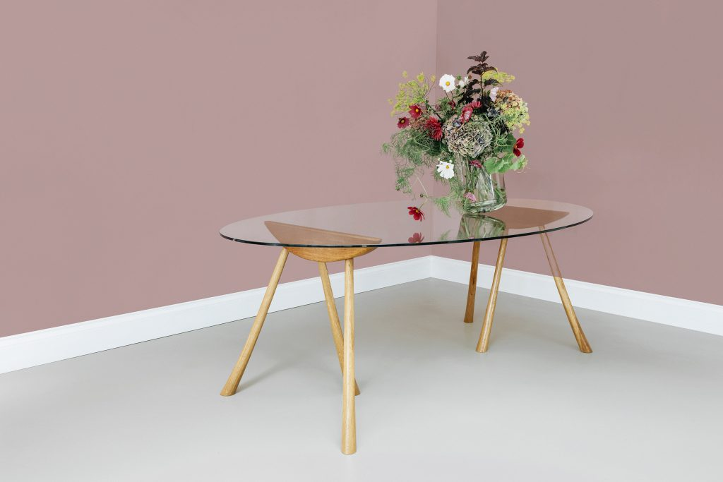 Pollyfox Trestle Table by Henry Swanzy