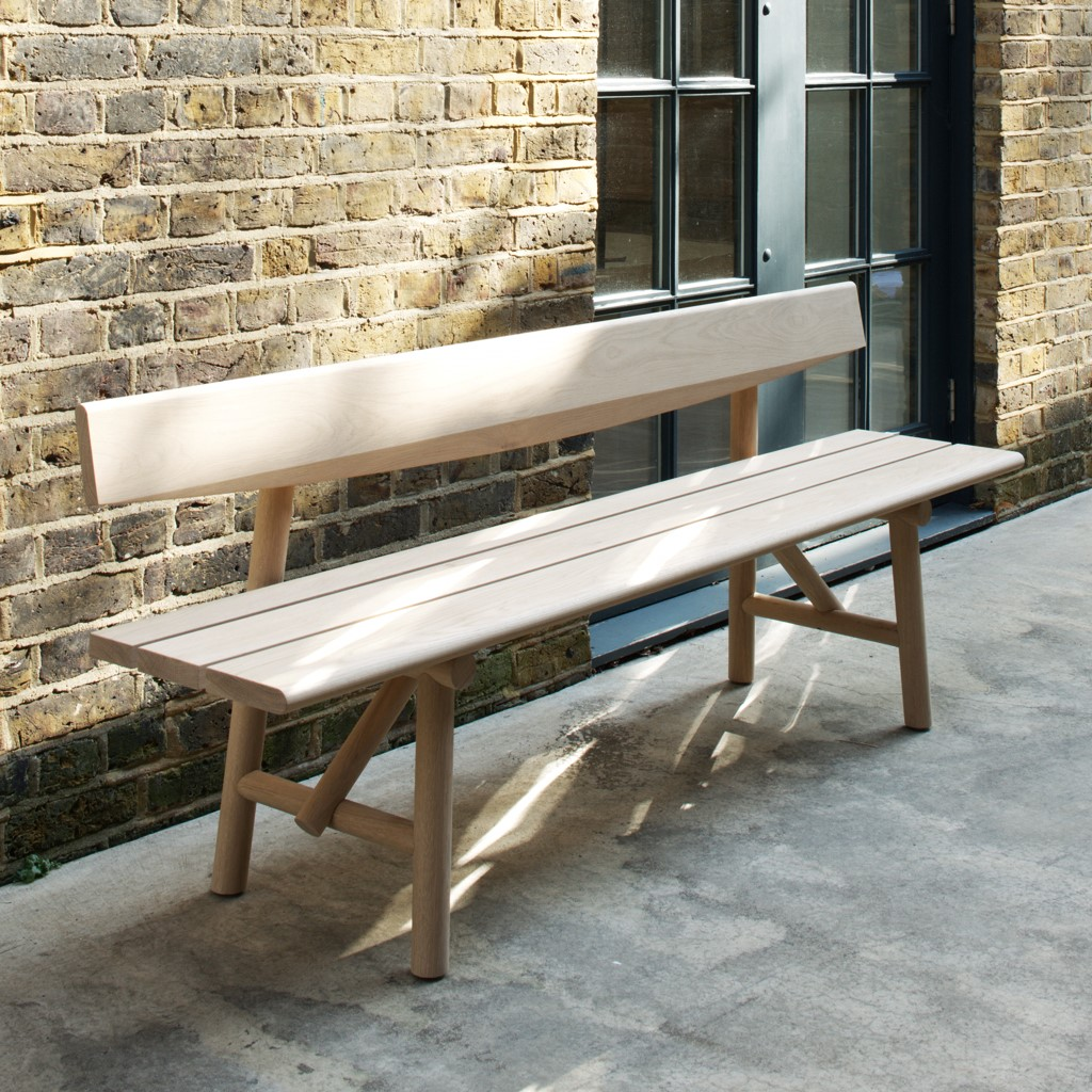 Caburn Bench by Wales & Wales