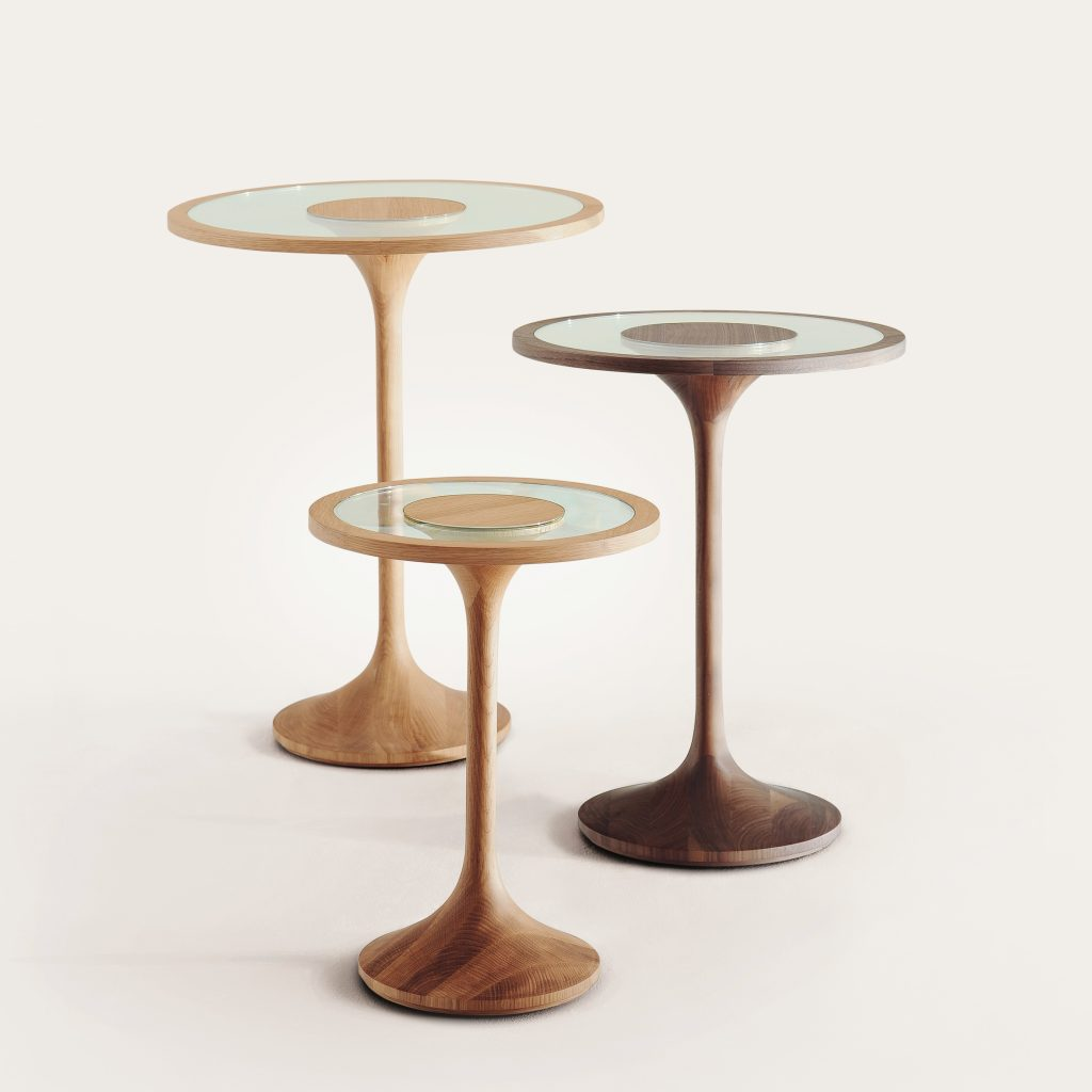 Gillespie side tables by Samuel Chan