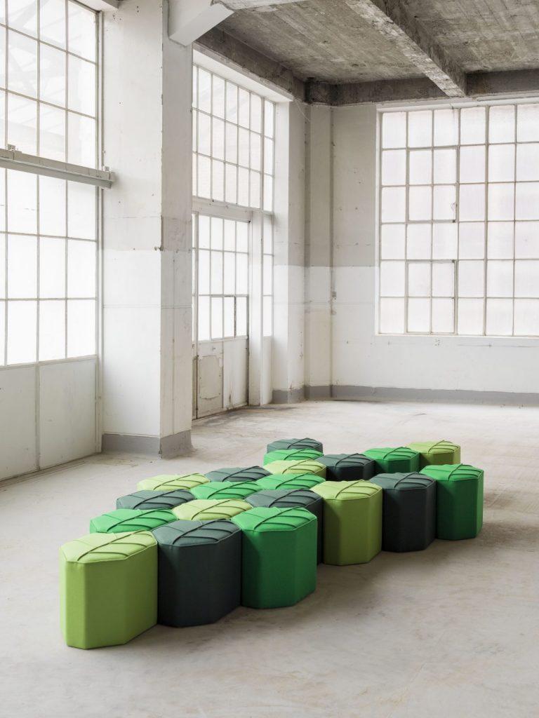 Leaf Seats by Nicolette de Waart