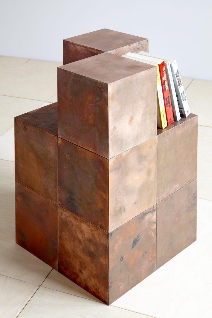 Magnetic Copper Cube by Paul Kelley