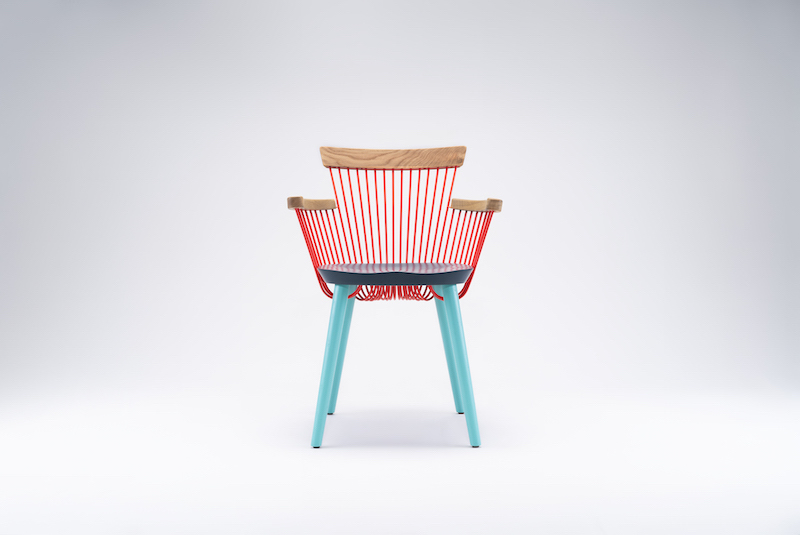 WW Armchair CS3 by Alejandro Villareal for Hayche