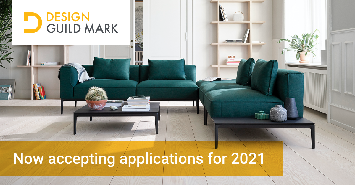 Design Guild Mark launches 2021 call for entries