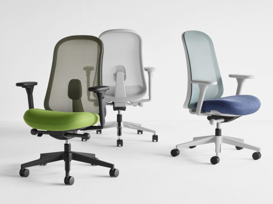 Lino Chair Designed by Sam Hecht and Kim Colin for Herman Miller Ltd