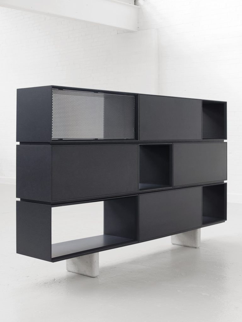 Assembled Collection/Stack and Chamfer Designed by Paul Crofts for Isomi Ltd