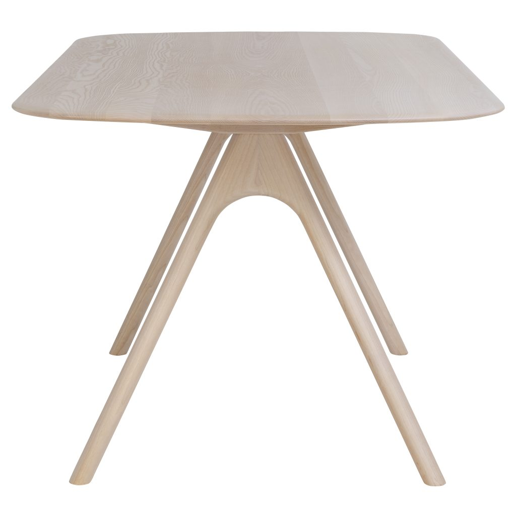 Corso Table + Bench Designed by Dylan Freeth for Ercol Furniture Ltd