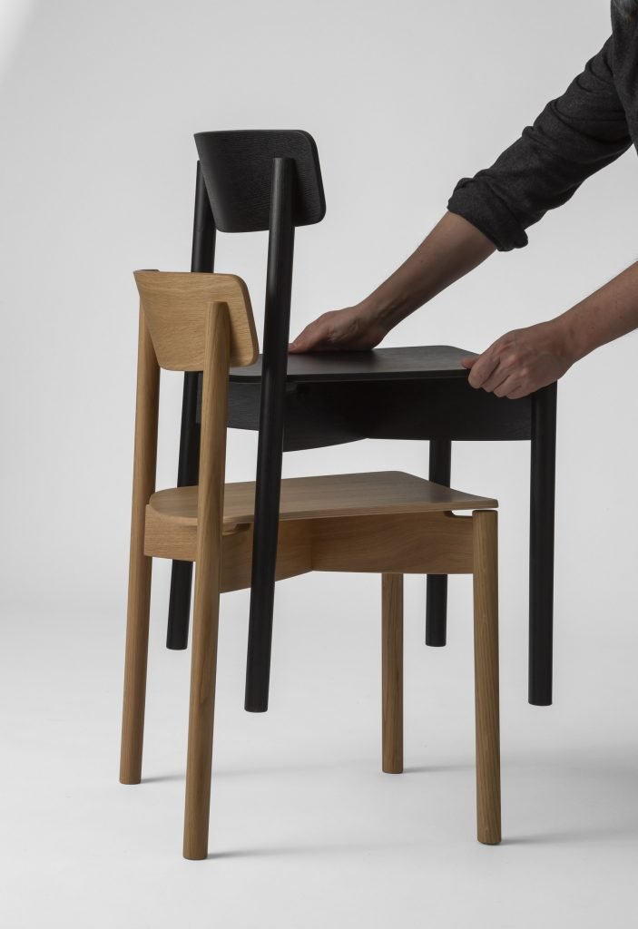 TO1 Cross Chair by Pearson Lloyd for TAKT